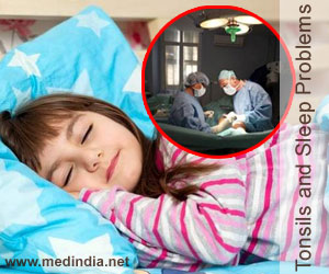 Tonsils and Adenoids Cause Sleep Problems in Kids