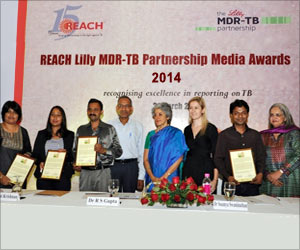 Journalists Awarded for Best Reporting on Tuberculosis