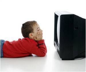 Too Much Television Makes Kids Inactive