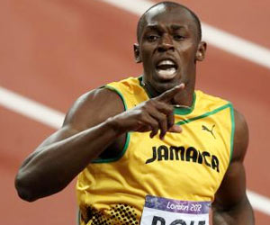 Usain Bolt Tops Facebook Olympic Charts