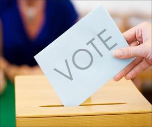Civic Polls Underway in Gujarat, With CM Casting Her Vote