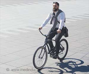 Cycling, Walking to Work can Reduce Heart Attack Risk