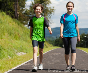 Children Who Exercise Have Better Body-Fat Distribution: Study