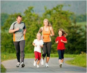 Study Says Active Moms Have Active Kids