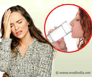 Drink Water for Relief from Headache