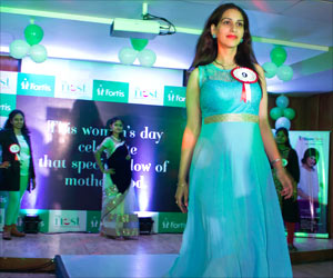 Pregnant Women Turn Models to Celebrate Women�s Day