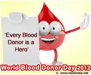 World Blood Donor Day 2012 - 'Every Blood Donor is a Hero'
