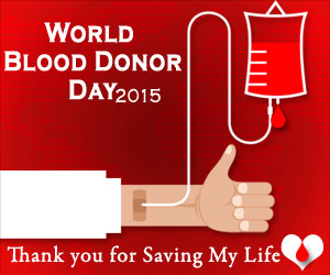 World Blood Donor Day 2015