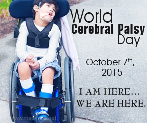 World Cerebral Palsy Day 2015: �I AM HERE� WE ARE HERE�