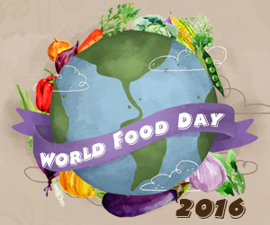 World Food Day 2016: Fight Hunger and Climate Change