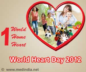 World Heart Day 2012: 'One World, One Home, One Heart'