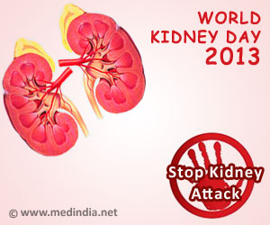 World Kidney Day 2013 - Kidneys for Life: Stop Kidney Attack