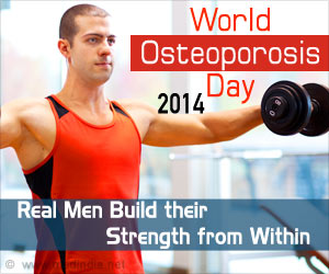 World Osteoporosis Day 2014 - Real Men Build Their Strength from Within