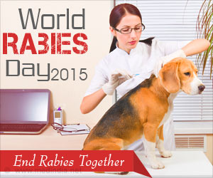 "World Rabies Day 2015 – ""End Rabies Together"""