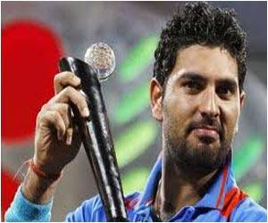 Cancer Patients Asked to Fight Disease With Courage By Yuvraj Singh