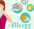Infographics on Allergy