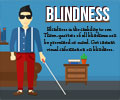 Infographics on Blindness