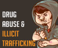 Infographics on Drug Abuse and Illicit Trafficking