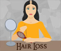 Infographics on Hair Loss