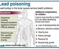 Infographics on Lead Poisoning