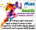 Move For Health - Increase Your Daily Physical Activity