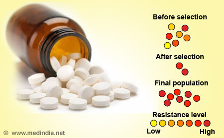 Drug Resistance / Antibiotic Resistance - Infographic