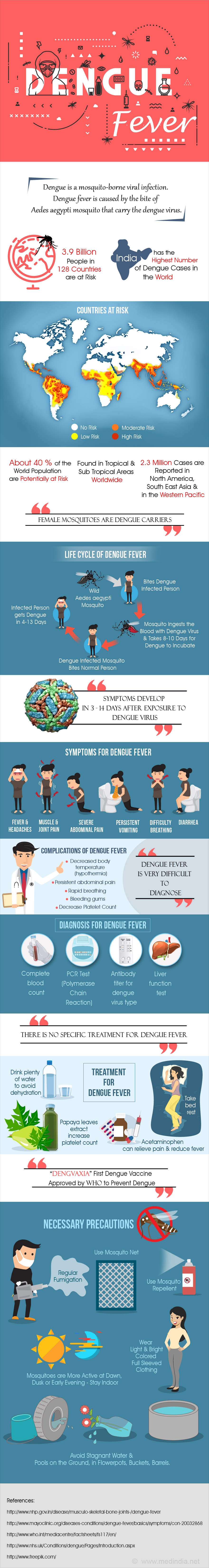 Dengue Fever - Infographic