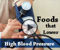 Foods that Lower High Blood Pressure - Video