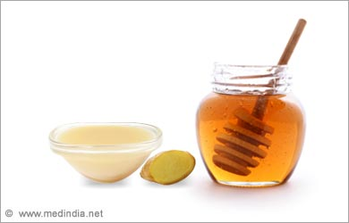 Home Remedies for High blood Pressure: Honey and Ginger Juice