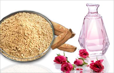 Tip for Home Remedies for Acne|Pimples: Sandalwood and Rosewater