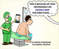 Spinal Anesthesia using Google map!