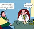 Internet blues For Doctors