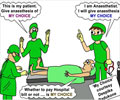 My Choice Chaos in Operation Theatre