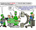 Cartoon on Sterilization