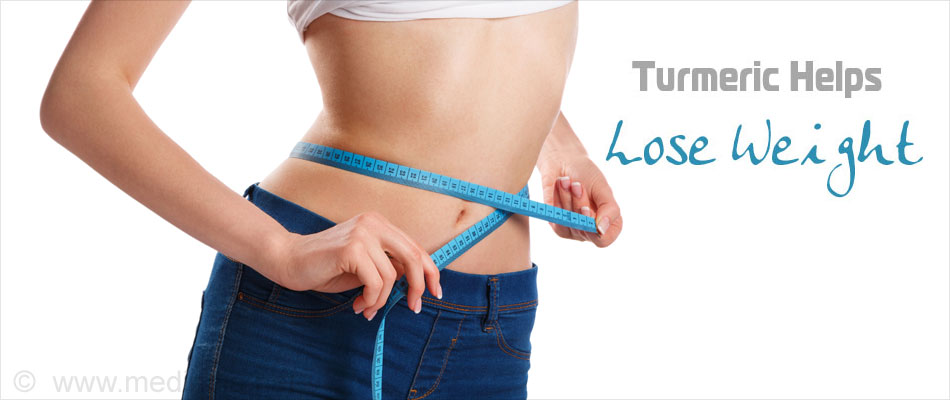 Curcumin Aids in weight Loss