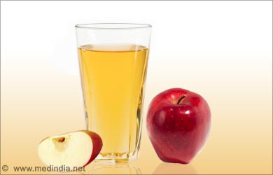 Sparkling Eye Beauty Tip: Apple Juice