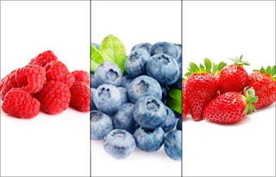 Tip for Glowing / Fairer Skin: Berries