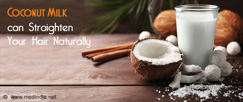 Coconut Milk for Straight Hair