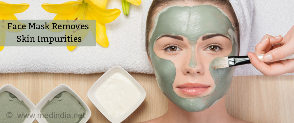 Face Mask Hydrates Skin