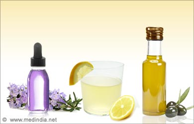 Dry Skin on the Feet: Olive Oil, Lemon Juice and Lavender Oil
