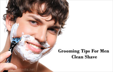 Grooming Tip For Men: Clean Shave