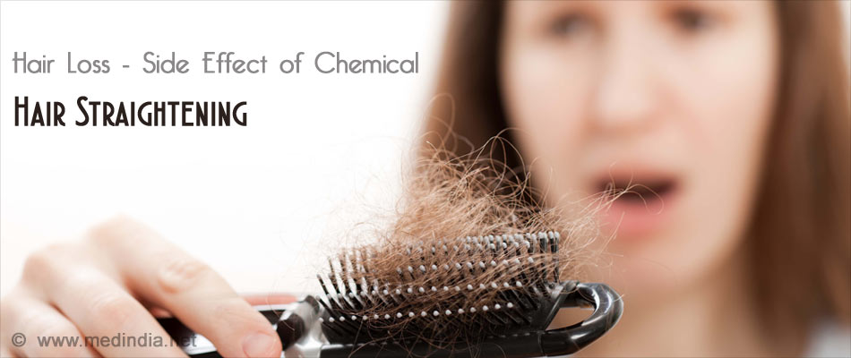 Hair Straightening May Cause Hair Fall