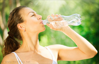 Healthy Skin: Drinking water