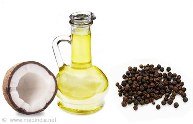 Herbal Hair Oils for Healthy Hair: Pepper with Coconut Oil