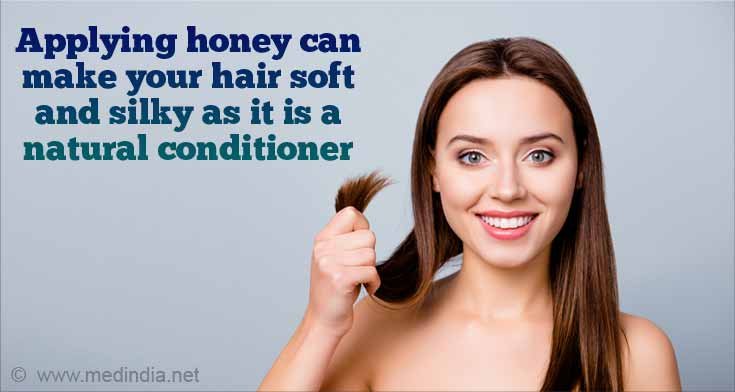 Honey Seals Moisture in the Hair