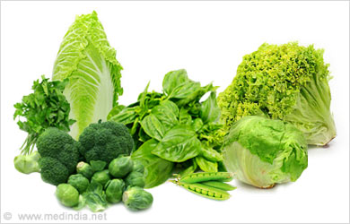 Body Care Tip for Women, Eye Care: Green veggies