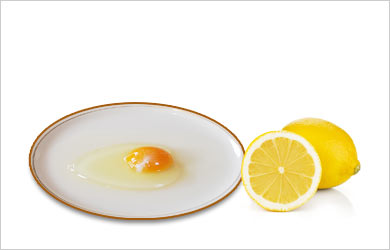 Face Open Pores Beauty Tip: Egg Whites and Lemon
