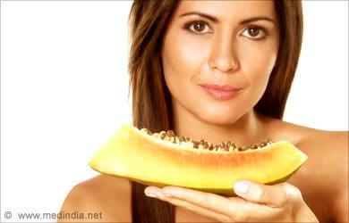 Face Open Pores Beauty Tip: Papaya