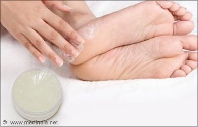 Dry Skin on the Feet: Petroleum Jelly