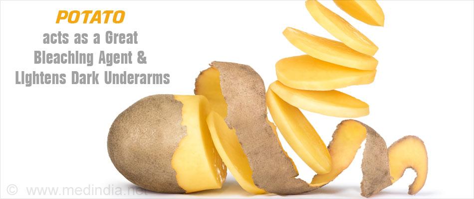 Potato Pads Helps Lighten Dark Underarms